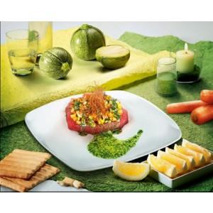 Marinated Tuna And Seasonal Vegetables