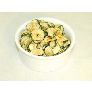 Courgette slices dehydrated 200gr