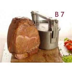 Mold for ham peershaped B7