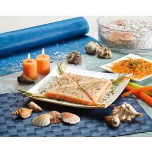 Broodje van zeevruchten